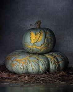 Nature's Canvas: Clip Art Designs for Carved Pumpkins