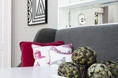 The Thornback & Peel pigeon/jelly fabrics make us smile.
