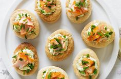 These may look retro, but the flavour combo in these smoked salmon and pea vol au vents is back in fashion! Using a couple of clever shortcuts, you can have these on your buffet table in just 20 minutes