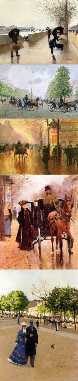 Jean Beraud. Парижское.