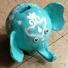 cool piggy banks clay - Google Search