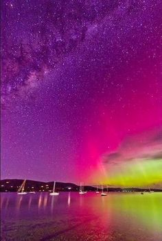 The Aurora Australia's 'shimmer' of dancing light with a little Milky Way. Amazing colors and sky