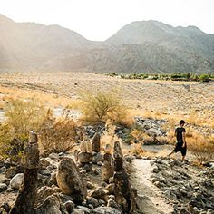 For adventurous trekkers: La Quinta, 25 miles southeast of Palm Springs, is a great entryway for hikers