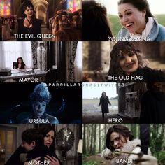 Many versions of Regina
