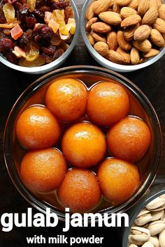 gulab jamun recipe | how to make gulab jamun with milk powder Milk Powder Gulab Jamun Recipe, Easy Gulab Jamun Recipe, Burfi Recipe, Chaat Recipe, Biryani Recipe, Veg Recipes, Sweets Recipes, Cooking Recipes, Sweet Dishes Recipes