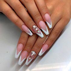 Gorgeous French Nail Designs 6