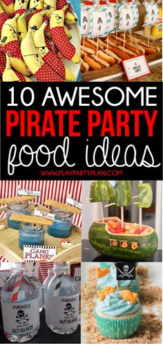 Awesome pirate party