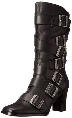 Harley-Davidson Women's Leslie Motorcycle Fashion Boot Black 7 B(M) US #HarleyDavidson #Black
