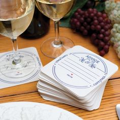 """""""Advice for the Mr. and Mrs."""" Coasters by Beau-coup"""