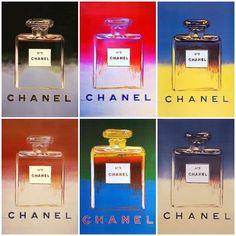 artimportant: Andy Warhol - Chanel No 5 Chanel No 5, Coco Chanel, Chanel Chance, Art Chanel, Perfume Chanel, Andy Warhol, Jeanne Lanvin, Miss Dior, Pierre Balmain