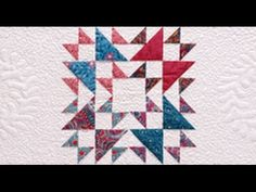 Double X Quilt - Good tips on controlling fabric in a scrap quilt. Quilt Sets, Quilt Blocks, Quilt Patterns Free, Free Pattern, Wilmington Prints, Half Square Triangles, Quilting Ideas, Stitches, Scrap
