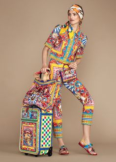 Discover the new Dolce & Gabbana Women's Carretto Siciliano Collection for Summer 2016 and get inspired.
