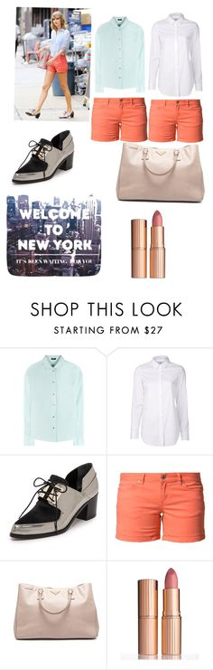 """""""Tay Tay Tuesday #7"""" by cupcakegirlxo ❤ liked on Polyvore featuring Jil Sander Navy, Closed, Jason Wu, ONLY, Prada and Charlotte Tilbury"""
