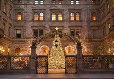 Christmas in New York City.