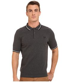 19a6ce761 F perry slim fit twin tipped f perry polo bright at 6pm.com