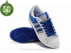 Adidas Originals Baskets La Trainer Ii Homme Blanc/Argent/Bleu M
