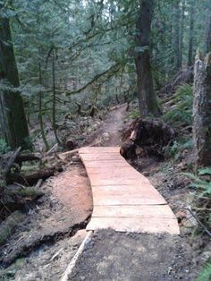 Photo of  in Abbotsford, British Columbia, Canada. Bridge Kerry and I put in on the new vedder climbing trail.  Love the S. gary