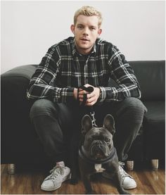 Russell Tovey- Love him with blonde hair.