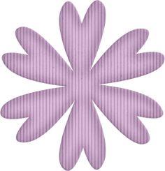 "Photo from album ""Hippity hop"" on Yandex. Flower Petals, Flower Art, Flowers, Yandex Disk, Views Album, Paper Crafts, Clip Art, Scrap, Cricut"