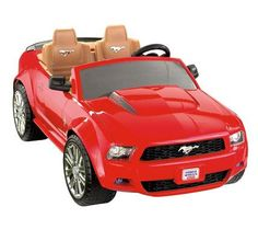 fisher price power wheels ford mustang electric car