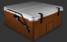 "Gas spring assisted lift system for larger spa covers. Greatly reduces the weight of the spa cover by aiding in lifting both front and back half of your cover at the same time. Easy to mount and comes with universal bracket to fit all makes and models of spas. For spas up to 98""."