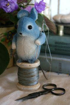 Feeling Blue Mouse