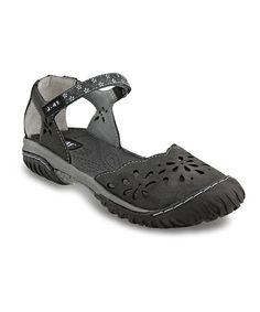 J-41 Footwear Charcoal Deva Closed-Toe Sandal by J-41 Footwear #zulily #zulilyfinds