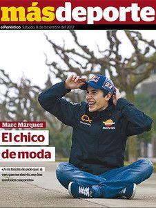 """""""A los míos les he pedido que si me desvío me den una 'clatellada'"""", asegura el bicampeón de Cervera, que prepara el salto a MotoGP"""