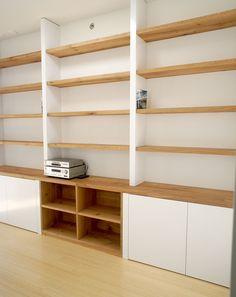 Art Studio At Home, Bookcase Styling Living Room, Home Library Rooms, Pantry Design, Store Design Interior, Home Office Decor, Hallway Designs, Bookshelves Diy, Bookshelf Design