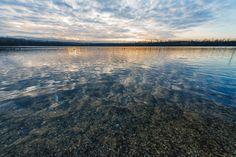 Bleibtreu lake, Hürth, Germany, Januar 2013