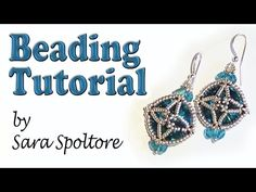 BeadsFriends: beading tutorial - How to make an earring - How to make a bracelet - DIY - YouTube