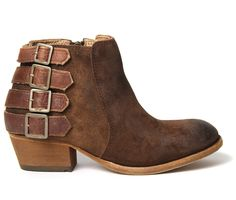 Want.  Women's Encke (Tan) Suede Ankle Boots | H by Hudson