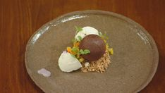 Bali Sunrise Caramelized White Chocolate, Chocolate Dipped, Melting Chocolate, Canned Jackfruit, Tropical Fruit Salad, Fruit Salsa, Coconut Mousse, Masterchef Recipes, Desserts