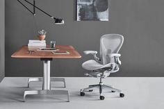 There's never been a more important time to get your hands on and rear-end into one of the best office and desk chairs on the market. In light of the growing popularity of the at-home work-station, many of us have realised the value of a […]Visit Man of Many for the full post. Cool Office Desk, Computer Desk Setup, Small Office, Herman Miller, Masculine Home Offices, Sayl Chair, Childrens Rocking Chairs, Ergonomic Chair, Upholstered Chairs