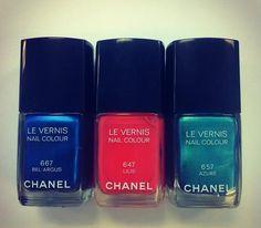 Chanel Smalti collezione Estate 2013. Anticipazioni...