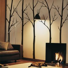 [Item# 5015 ] Customized tree decals for your living room, bedroom, or baby nursery! The branches can go anywhere on the tree. Arrange them any way you wish. This set includes six winter tree wall Wall Decal Sticker, Wall Stickers, Wall Vinyl, Car Decals, Vinyl Decals, Wall Art, Chalkboard Wall Calendars, Tree Decals, Winter Trees