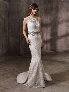Badgley Mishcka Bridal Collection 2017 ADELE