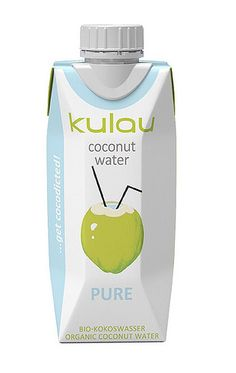 Coconut water, a natural isotonic beverage, is produced by the fruit when it is… Coconut Water, Healthy Lifestyle, Organic, Personal Care, Pure Products, Drinks, Beauty, Photos, Food