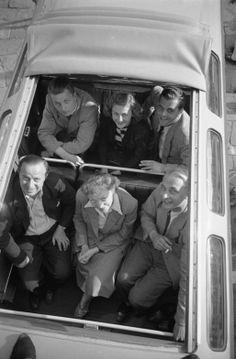 "VW typ 241 Samba, techo corredizo ""Golde"", c 1951"