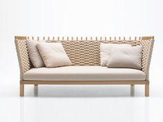 花园沙发 Wabi系列 by Paola Lenti | 设计师Francesco Rota
