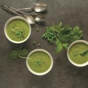 Recipes   The Splendid Table. This page displays the categories of recipes. Pictured is Spring Pea Soup.