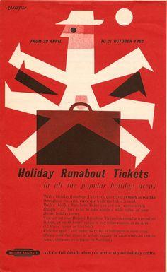 British Railways poster by Eckersley.