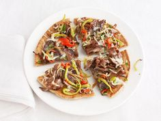 Philly Cheese Steak Pizzas