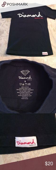 ⬇️ Mens Diamond Supply Co tshirt   Diamond Supply Co mens t-shirt. Size small. GREAT condition.  Diamond Supply Co. Shirts Tees - Short Sleeve