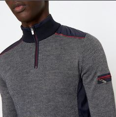 - Everything About Knitting Ski Fashion, Mens Fashion, Casual Chic Style, Men Casual, Sweater Outfits, Men Sweater, Types Of Shirts, Men's Shirts, Knitwear