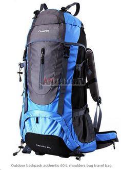 59873fbb3b85 Outdoor backpack authentic 60 L shoulders bag travel bag Backpack 2017, Rucksack  Backpack, Camping