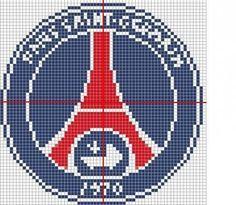 Embleme Psg Avec Images Logo D Art Coloriage Pixel Patte De Chien