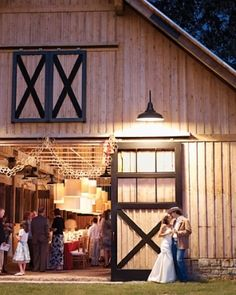I just love barn weddings, i like the groom's clothing for the wedding