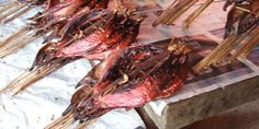 Cakalang fufu rabe rica, kuliner pedas Manado | merdeka.com