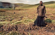 Juxtapoz Magazine - Portraits of South Africans residents by Zwelethu Mthethwa